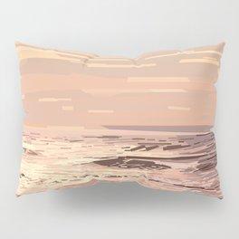 Sea waves at sunset #ocean #horizon #seascape Pillow Sham
