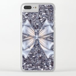 Silver Clear iPhone Case
