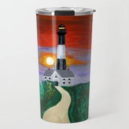 Fire Island Lighthouse Travel Mug