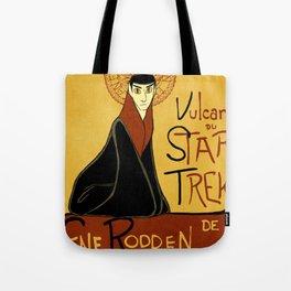 Vulcan du Star Trek Tote Bag