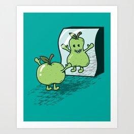 I wish I were... Art Print