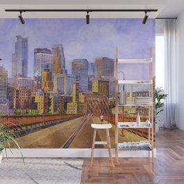 The city is calling my name today. Wall Mural