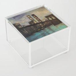 The Twin Towers, New York, NY Acrylic Box