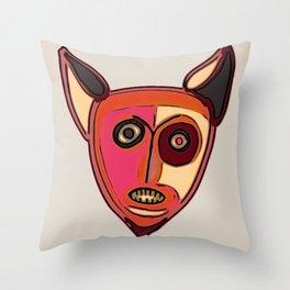Foxster Throw Pillow