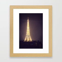 Paris Glow Framed Art Print