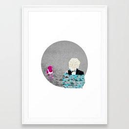 Head Ace Framed Art Print