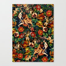 HERA and ZEUS Garden Canvas Print