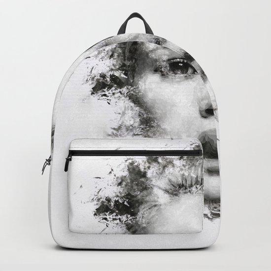 Woman Portrait Backpack