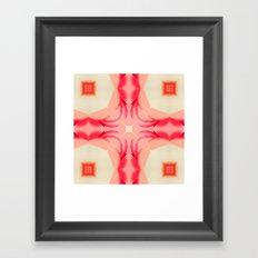 Pink Yams Framed Art Print