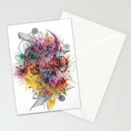 Colors of the wind by Nico Bielow Stationery Cards