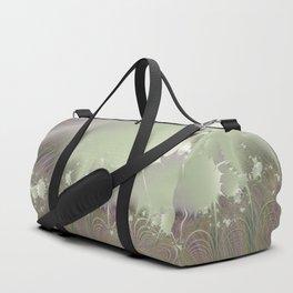 Awakening into a beautiful morning - A fractal fantasy Duffle Bag