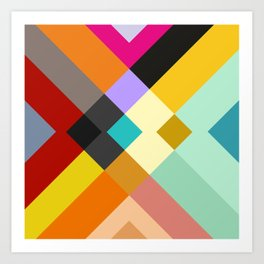 urban tribal pattern #society6 #decor #buyart #artprint Art Print