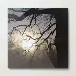 Another foggy sunrise in the Ozarks Metal Print