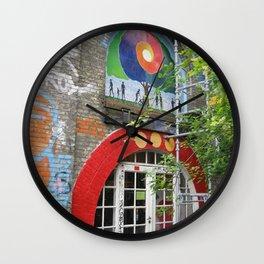 A Work in Progress Wall Clock