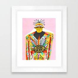 Champ Framed Art Print