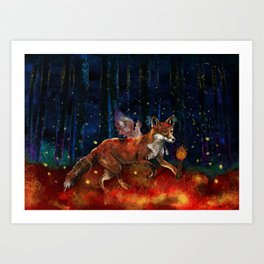The Origin of Fire Art Print