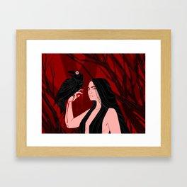 Morrigun Framed Art Print