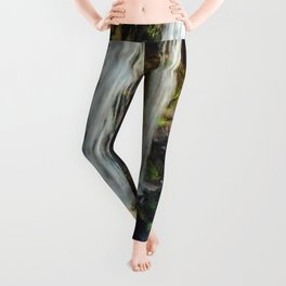 Grotto Falls Smoky Mountains Leggings