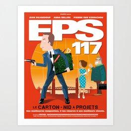 EPS 117 - Le carton Art Print