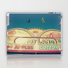 CandyLand ~ vintage-feel carnival Laptop & iPad Skin