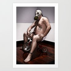 Toxic Youth Art Print