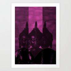 OM Buddha Art Print