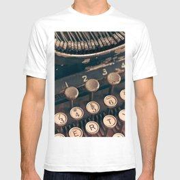 Vintage Typewriter - Macro Photography #Society6 T-shirt