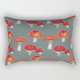 Mushrooms Pattern  Rectangular Pillow