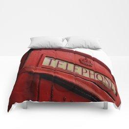 Telephone Box & Tower Comforters