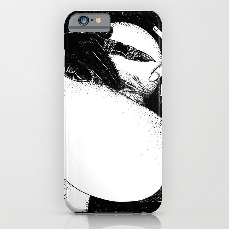 3fcab6e08bd asc 582 - Le gant de velours (The velvet glove) iPhone Case by  apolloniasaintclair | Society6