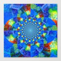 kaleidoscope Canvas Prints featuring Kaleidoscope  by haroulita