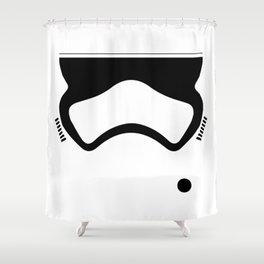 First Order Stormtrooper Shower Curtain