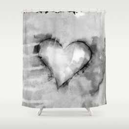 Love Unfolding No.26K by Kathy Morton Stanion Shower Curtain
