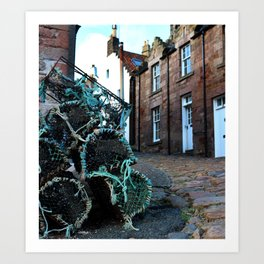 Fishing in Fife : Scotland Art Print