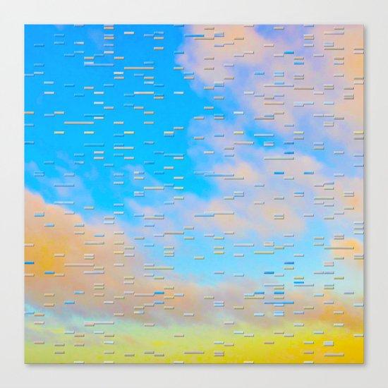 Blip Canvas Print