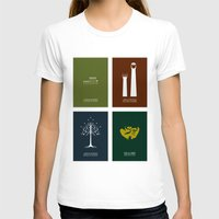 the lord of the rings T-shirts featuring Lord of the Rings - Complete Minimalist Collection by Jamesy