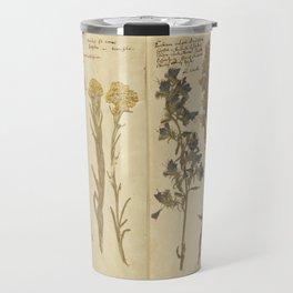 Vintage Herbarium  Travel Mug