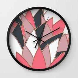 Shades of Pink Wall Clock