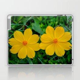 Two Yellow Flowers Laptop & iPad Skin