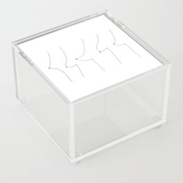 Perky Saggy Acrylic Box