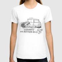 mini cooper T-shirts featuring Mini Cooper Classic (ADO15) by Swasky