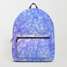 Bright Blue Purple Abstract Painting Backpack