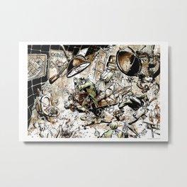 Naked Lunch by Anna Helena Szymborska Metal Print