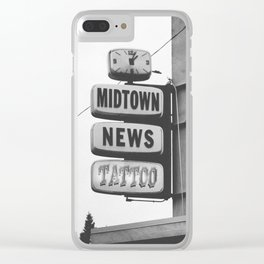 Midtown News Clear iPhone Case