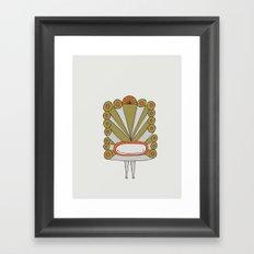 Viracocha Framed Art Print