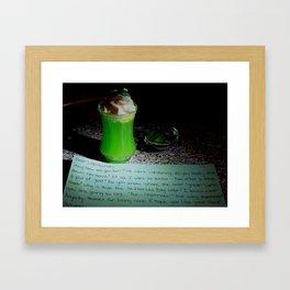 Letter to a leprechaun Framed Art Print