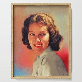 Jean Parker, Vintage Actress Serving Tray