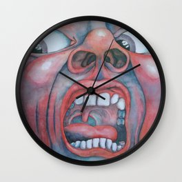 In the Court of the Crimson King Wall Clock