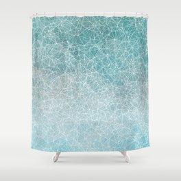 Polygonal A3 Shower Curtain