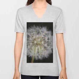 Dandelion seed ball Unisex V-Neck